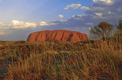 Ayers Rock Uluru Northern Territory Aboriginal culture Sunset