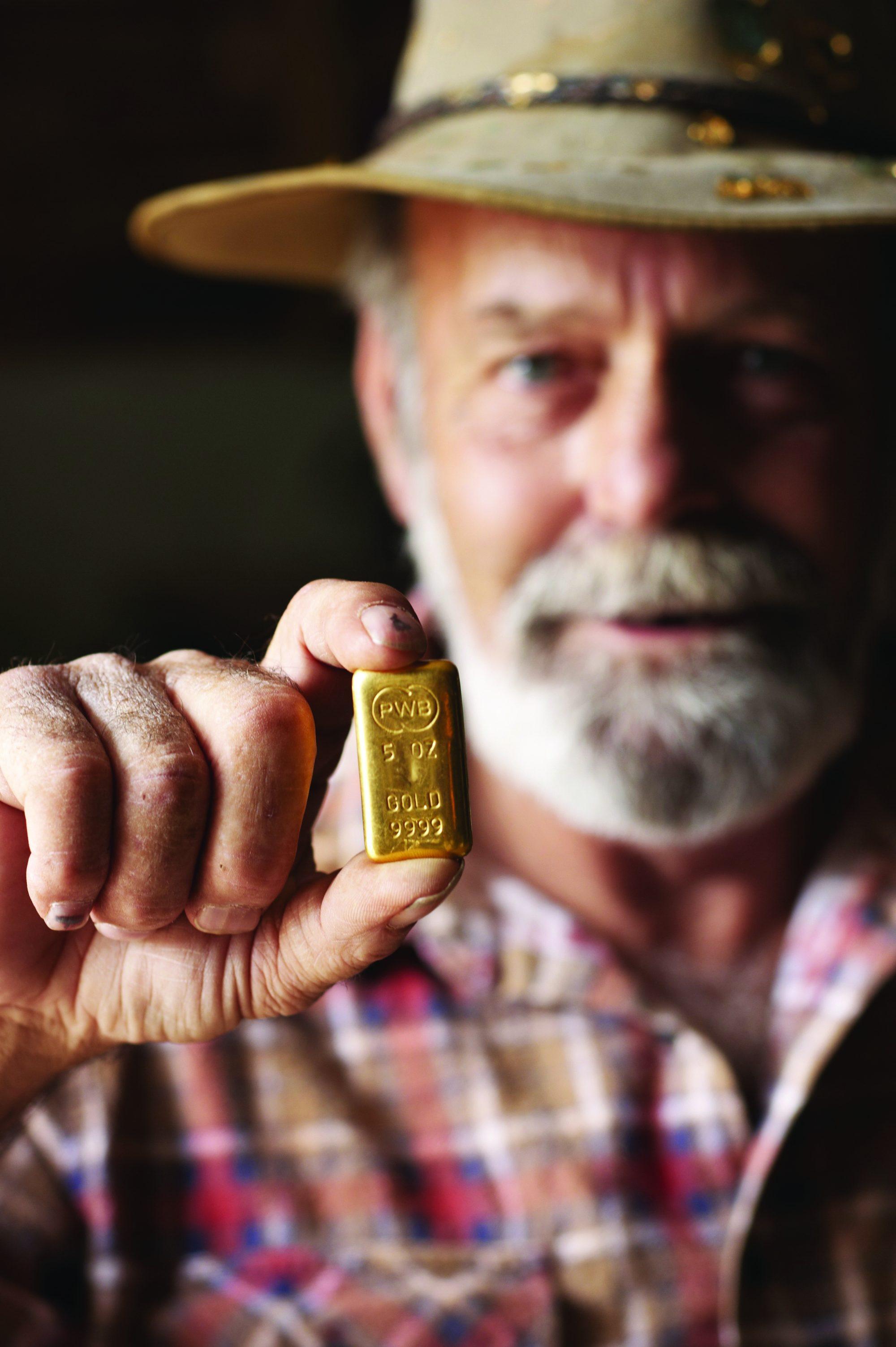 Gold Prospector in Kalgoorlie