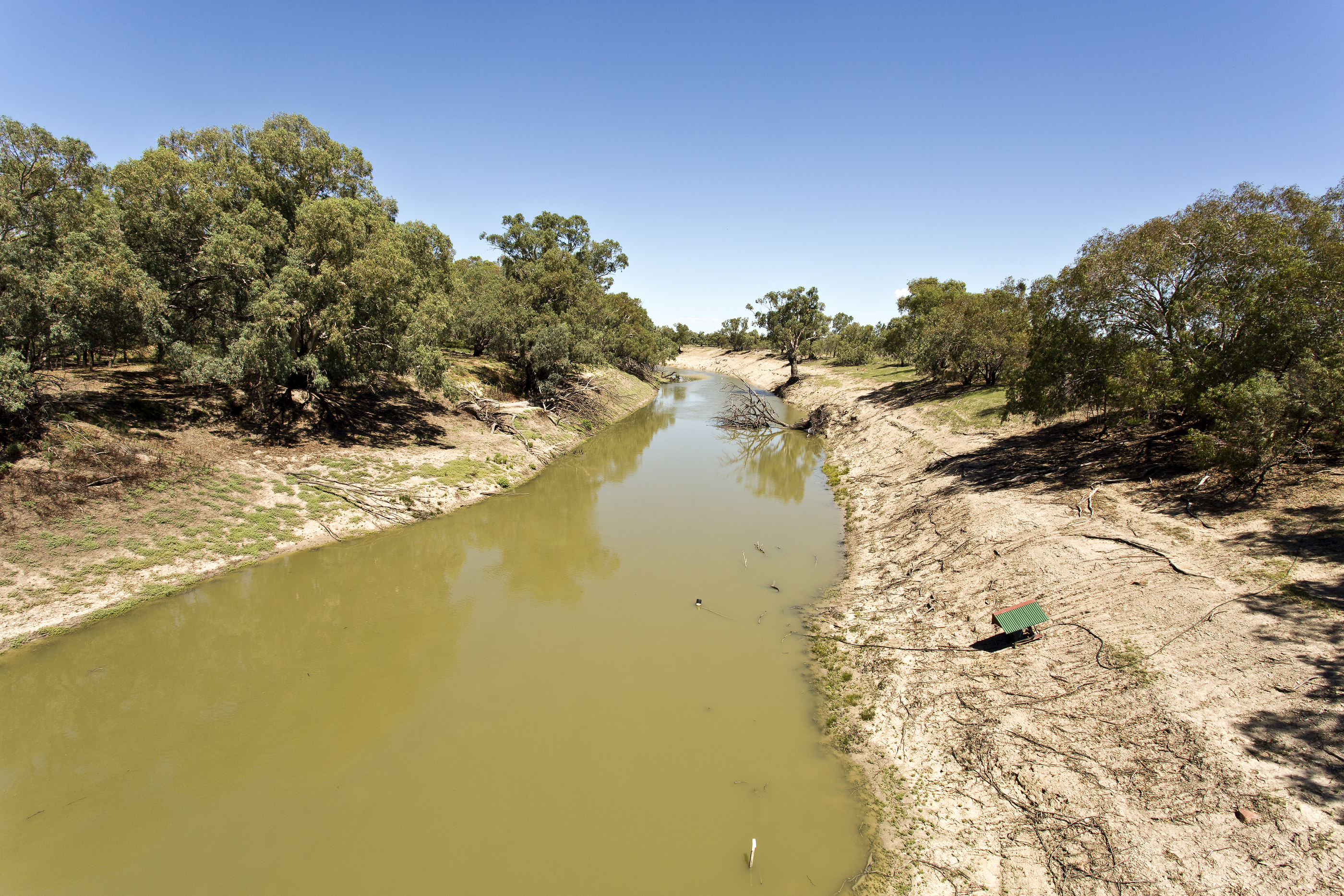 Darling River at Tilpa