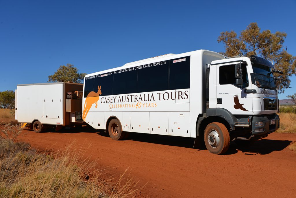 Travelling in Style with Casey Tours