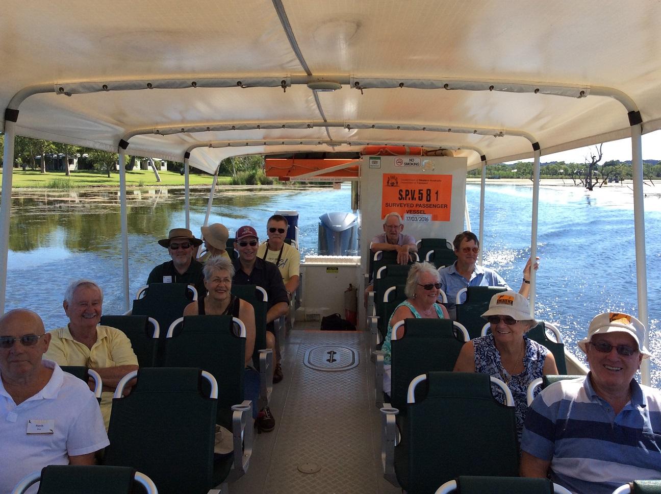 Lake Argyle Boat Cruise