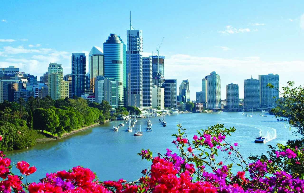 Brisbane City in Queensland