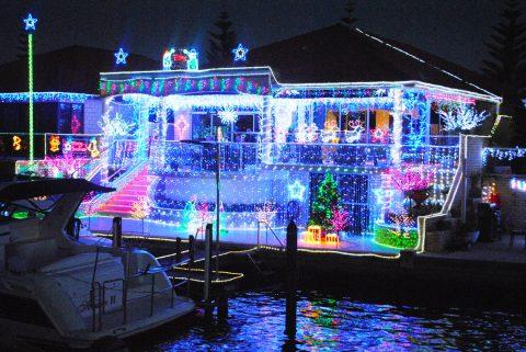 Canal Christmas Lights